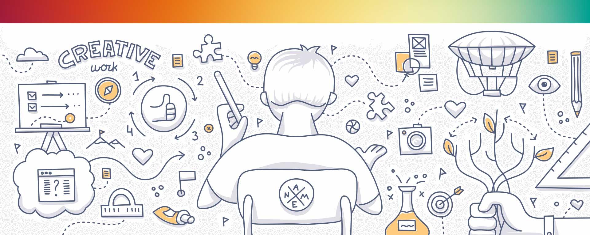 Biancolapis Design della comunicazione. La mappa mentale per creare un logo