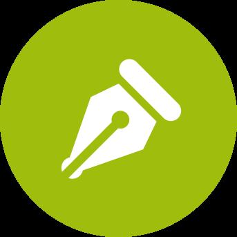 Biancolapis Design della comunicazione. Gli schizzi per disegnare un logo. Icona