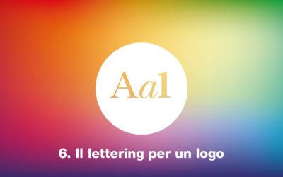 Il lettering per un logo