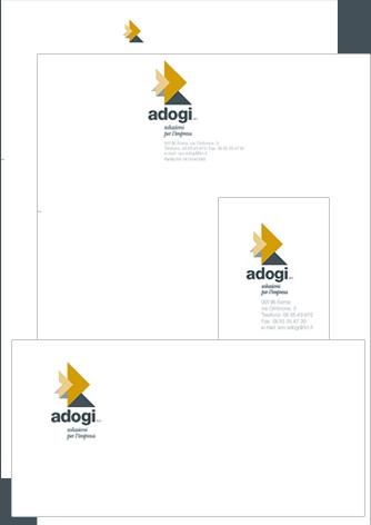 Corporate Identity Adogi - Biancolapis - Design per la Comunicazione