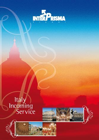 Brocure per Interprisma viaggi – Italy Incoming Service - Biancolapis - Design per la comunicazione