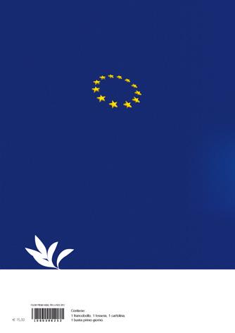 Folder Filatelico Premio Nobel per la pace 2012 all'Unione Europea - Biancolapis - Design per la Comunicazione
