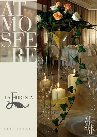 Brochure ristorante La Foresta - pagina frontale