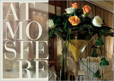 Una brochure dal design elegante e raffinato per il ristorante La Foresta