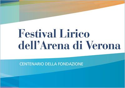 Folder filatelico Festival Lirico dell'Arena di Verona