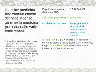 Presentazione in PowePoint sulla Mediciana Tradizionale Cinese - Biancolapis - Design per la Comunicazione