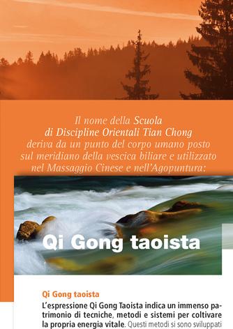 Sito web e brochure Scuola Discipline Orientali Tian Chong