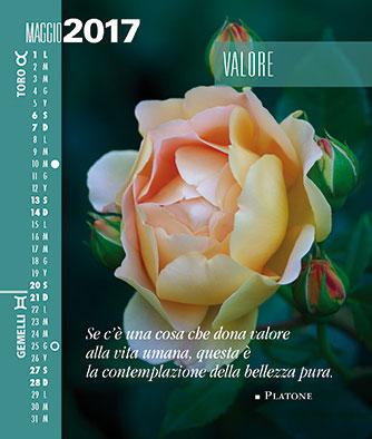 Calendario SegniSimboliParole 2017 Maggio