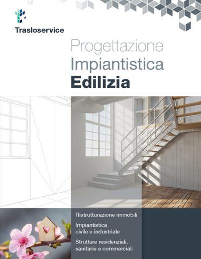 Brochure impresa edile Trasoloservice Copertina