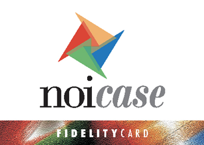 Pieghevole e Fidelity Card NoiCase