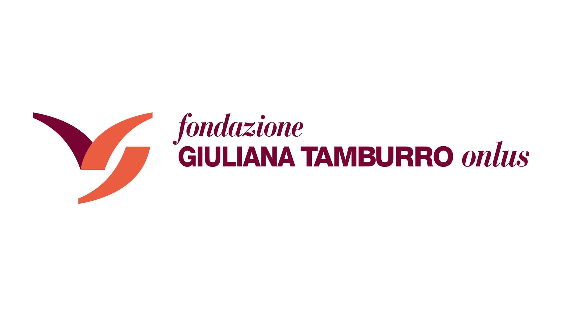 Logo Fondazione Giuliana Tamburro Onlus. Biancolapis. Design per la Comunicazione