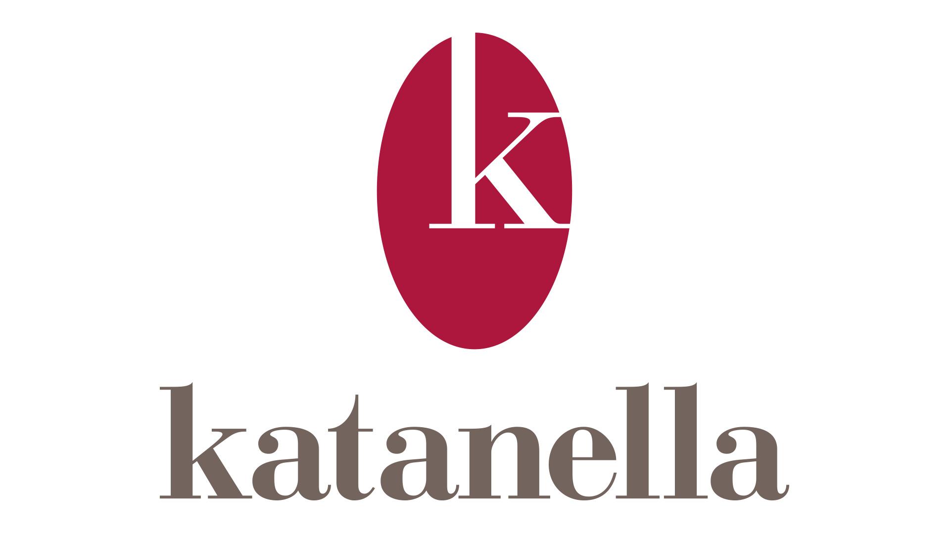 Logo Katanella. Biancolapis - Design per la Comunicazione