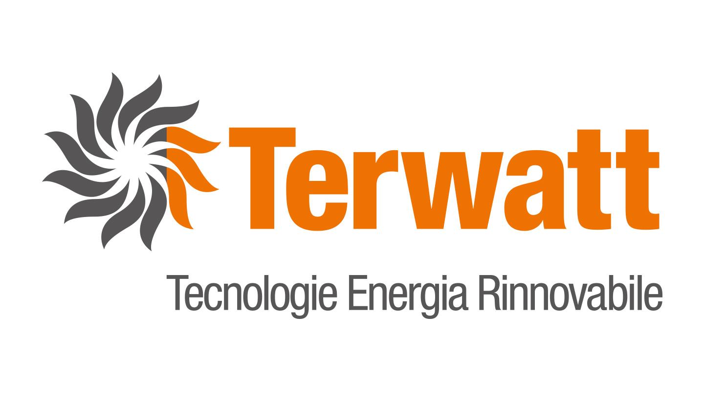 Logo Terwatt. Biancolapis - Design per la Comunicazione