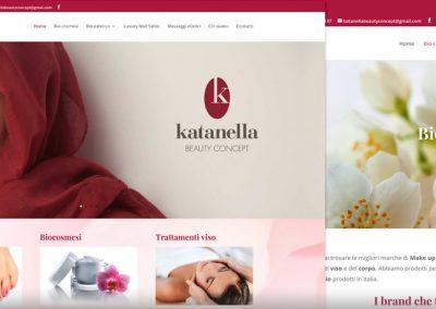 Sito web Katanella Beauty Concept